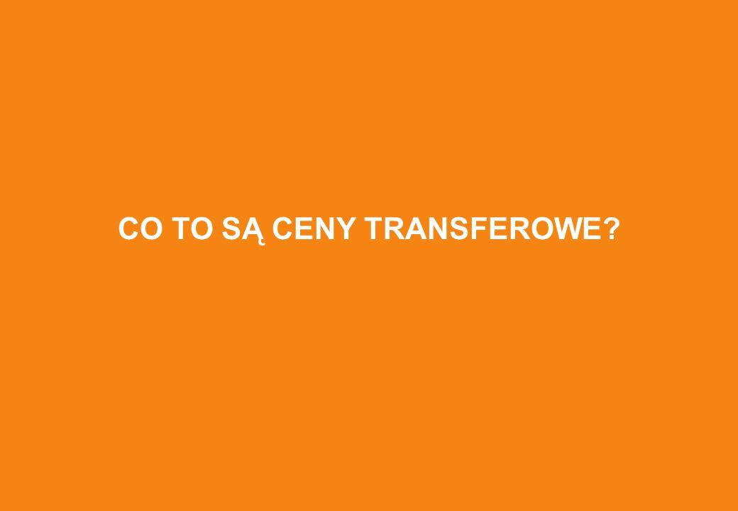 CO TO SĄ CENY TRANSFEROWE?