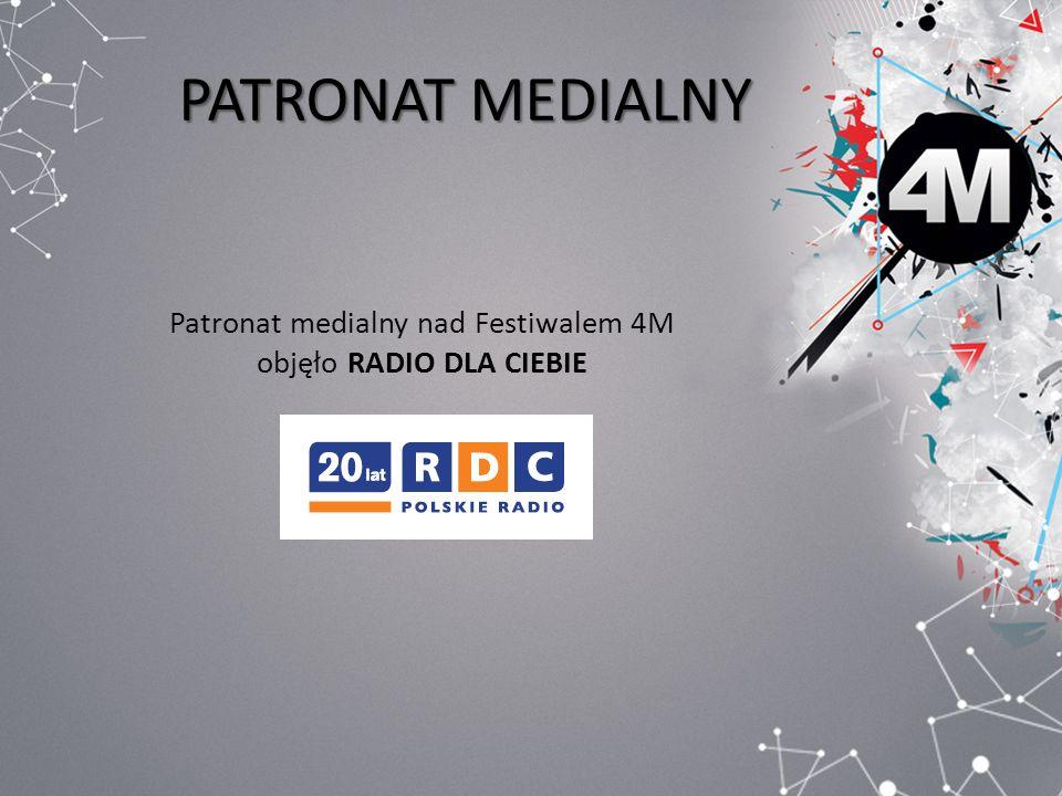 PATRONAT MEDIALNY Patronat medialny nad Festiwalem 4M objęło RADIO DLA CIEBIE