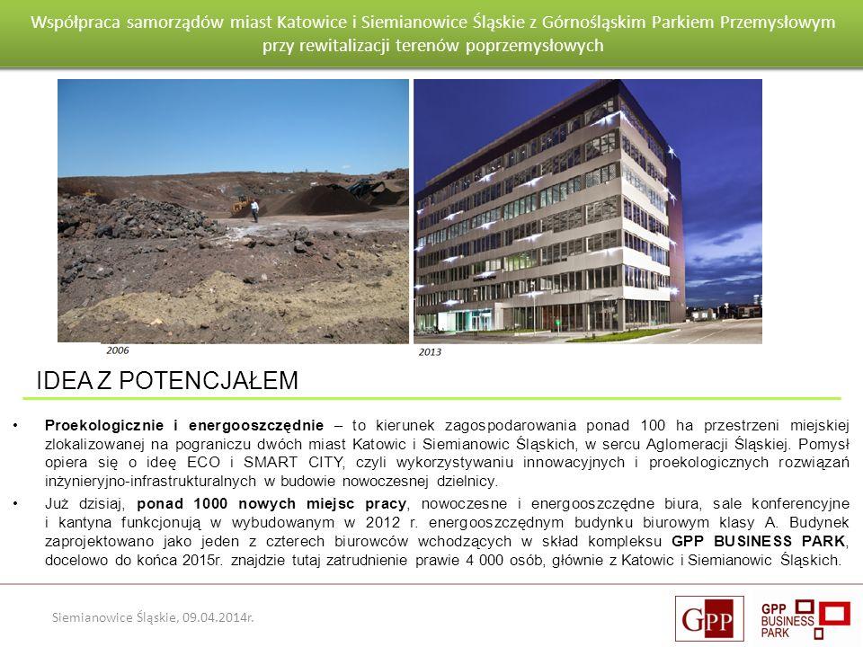 Wnioski po pierwszym roku eksploatacji budynku Goeppert - Mayer Siemianowice Śląskie, 09.04.2014r. Proekologicznie i energooszczędnie – to kierunek za