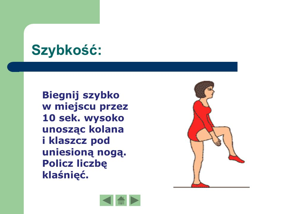 Próby sprawnościowe Indeksu Sprawności Fizycznej K.