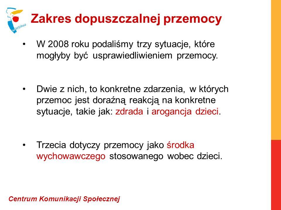 Opracowanie: Jacek Szymanderski Centrum Komunikacji Społecznej jacekszymanderski@poczta.onet.pl tel.