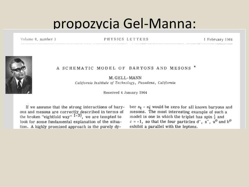 propozycja Gel-Manna: