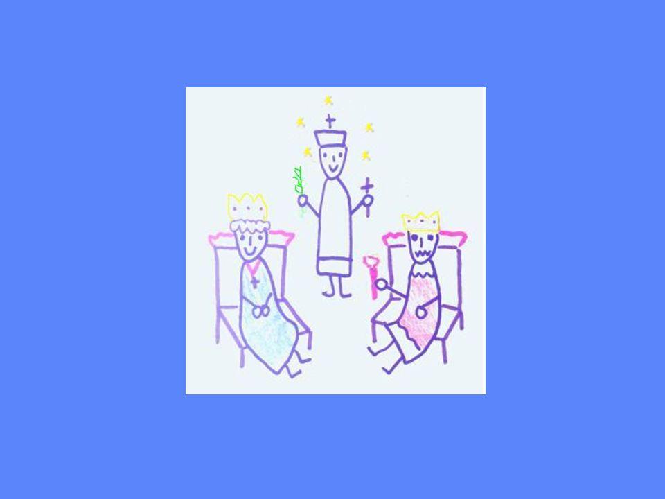 Tajemnicza spowiedz Więc razu pewnego królowa przed księdzem Janem Nepomukiem.