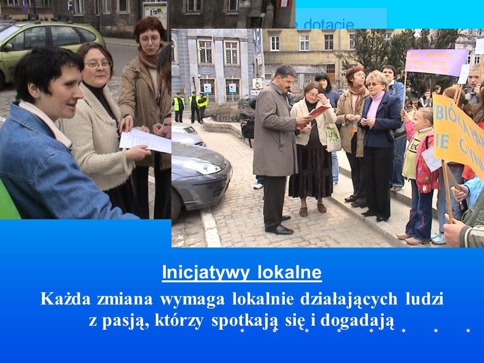 Skuteczne dotacje Cel projektu poprawa efektywności zarządzania konkursami adresowanymi do organizacji pozarządowych Zasięg 35 gmin i starostw powiatowych z Dolnego Śląska o zróżnicowanej populacji Czas realizacji od IV.2006 do XI.2006