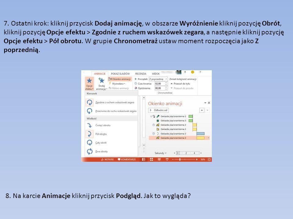 Różne orientacje slajdów 1.Pionowa orientacja strony 2.