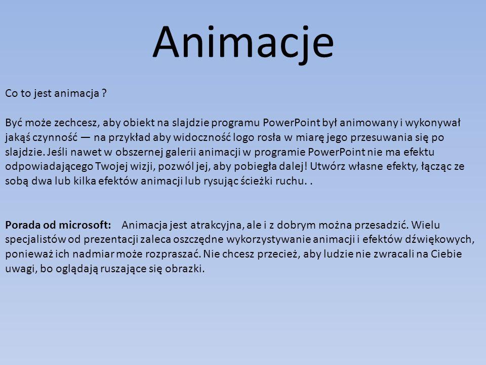 Animacje Co to jest animacja .