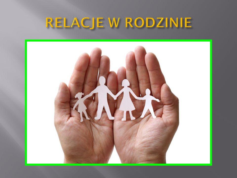 KLASA 4b technikum Relacje w rodzinie można poprawić poprzez wspólne działania.