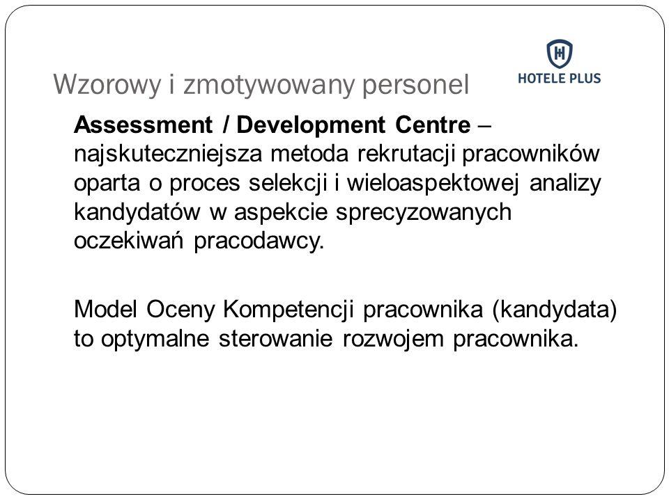 Wzorowy i zmotywowany personel Assessment / Development Centre – najskuteczniejsza metoda rekrutacji pracowników oparta o proces selekcji i wieloaspek