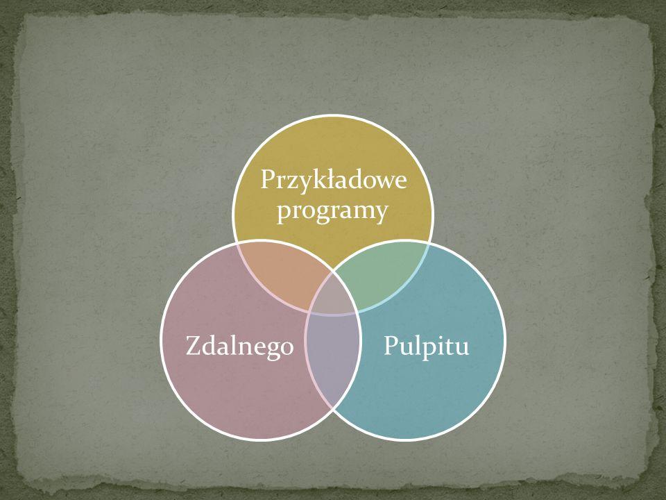Przykładowe programy PulpituZdalnego
