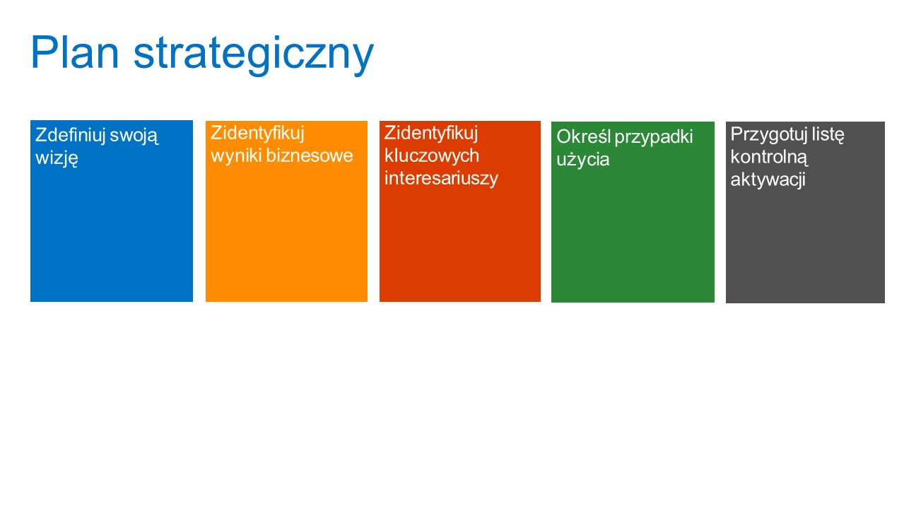 Program Plan strategiczny