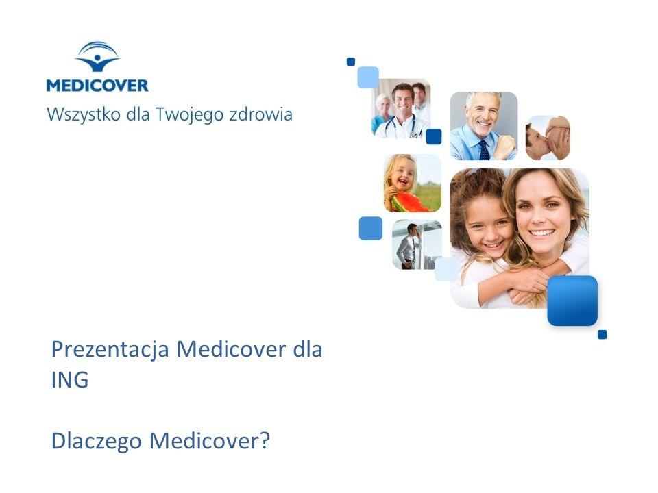 Prezentacja Medicover dla ING Dlaczego Medicover?