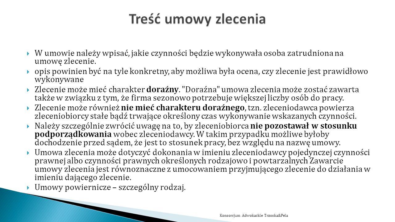 www.trzoska-pela.pl Dziękuje za uwagę Adw.