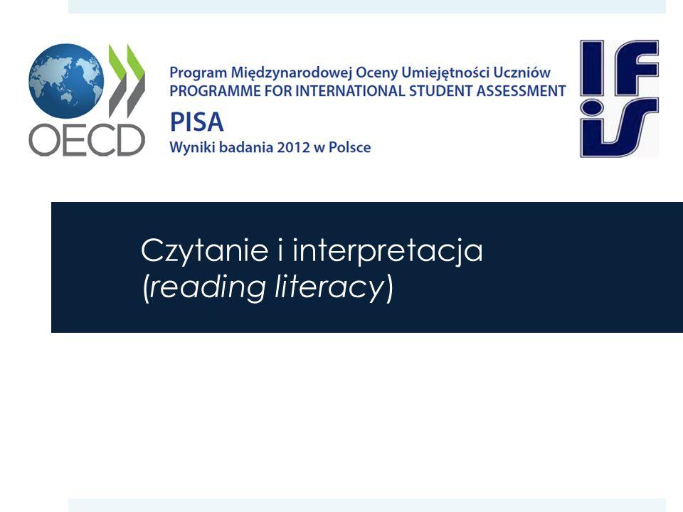 Czytanie i interpretacja (reading literacy)