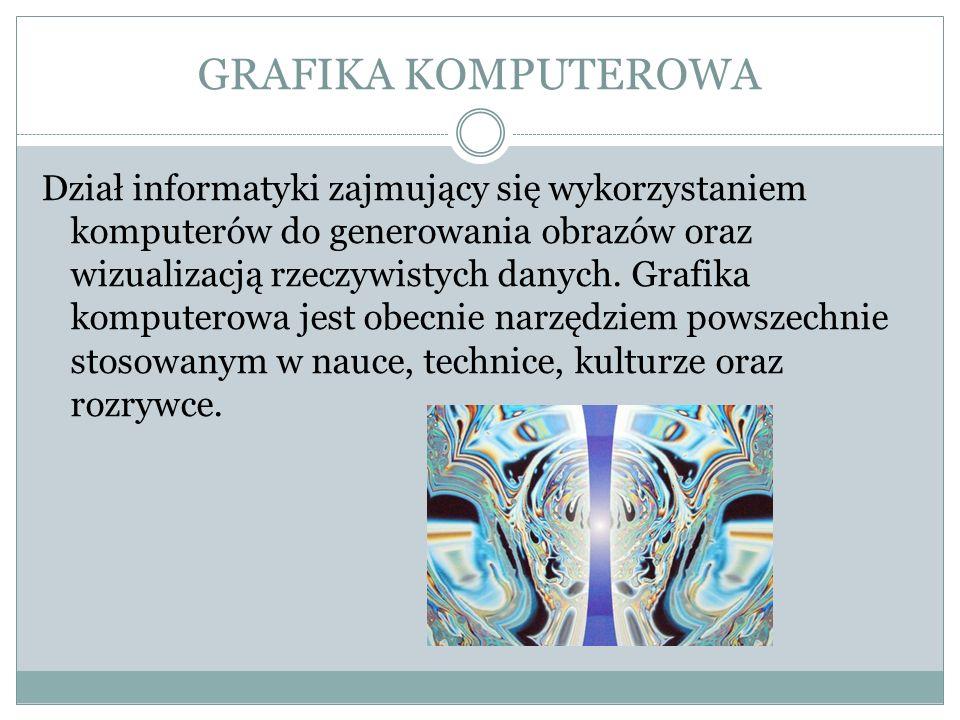 Chociaż grafika komputerowa koncentruje się głównie na specjalistycznych algorytmach i strukturach danych, to jednak siłą rzeczy musi czerpać z innych dziedzin wiedzy.