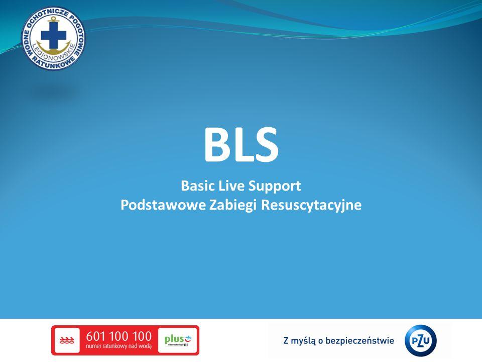 BLS Basic Live Support Podstawowe Zabiegi Resuscytacyjne