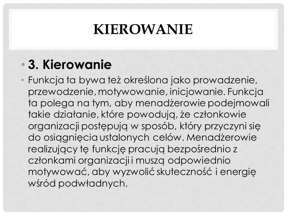 KONTROLOWANIE 4.