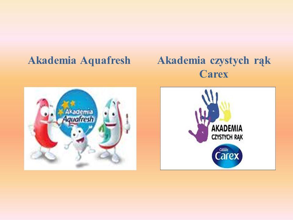 Akademia AquafreshAkademia czystych rąk Carex