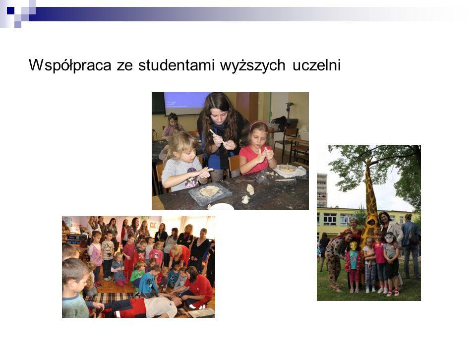Współpraca ze studentami wyższych uczelni