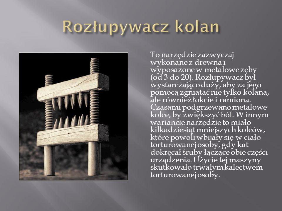 To narzędzie zazwyczaj wykonane z drewna i wyposażone w metalowe zęby (od 3 do 20).