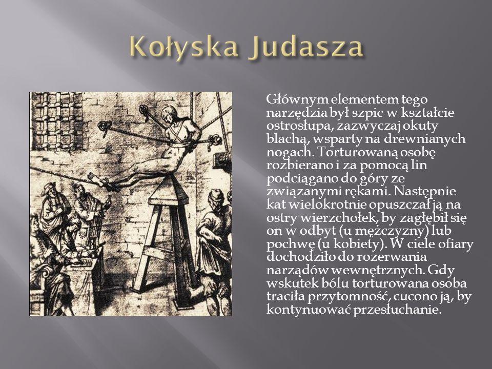 Gruszka (doustna, dopochwowa, doodbytnicza), znana też jako gruszka udręki, gruszka papieża lub gruszka dusicielka. Gruszką doustną torturowano przede