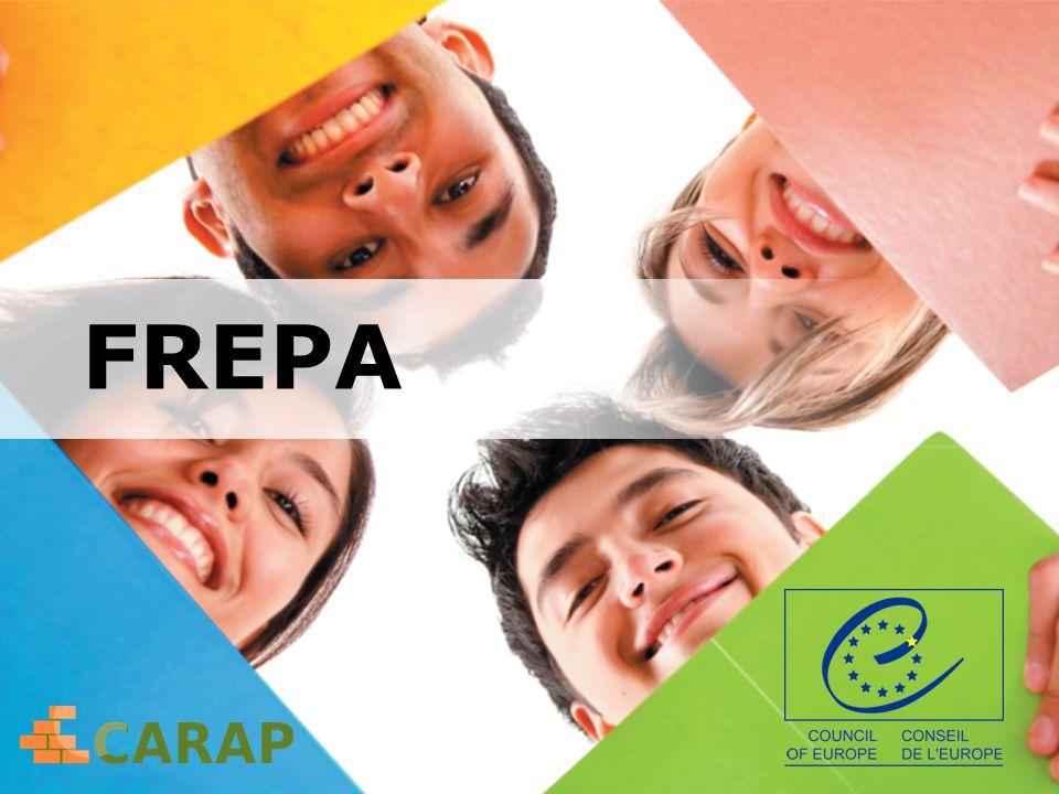 System opisu pluralistycznych podejść do języków i kultur FREPA A Framework of Reference for Pluralistic Approaches to Languages and Cultures Narzędzie proponowane przez Radę Europy Europejskie Centrum Języków Nowożytnych w Grazu www.ecml.at