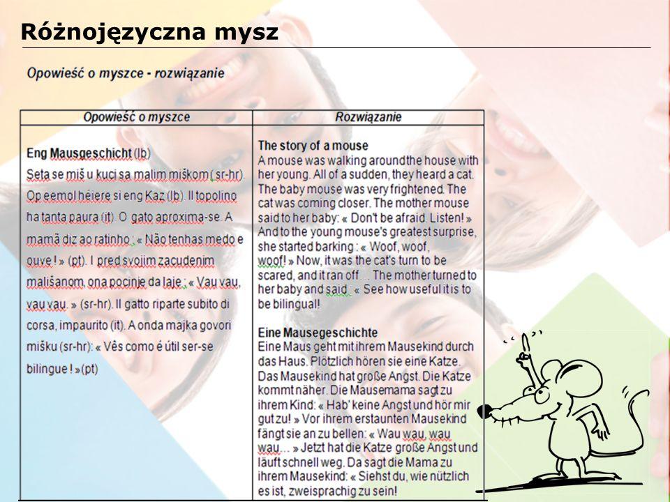 Przyjrzyj się tytułowi Czerwonego Kapturka po polsku i po francusku.
