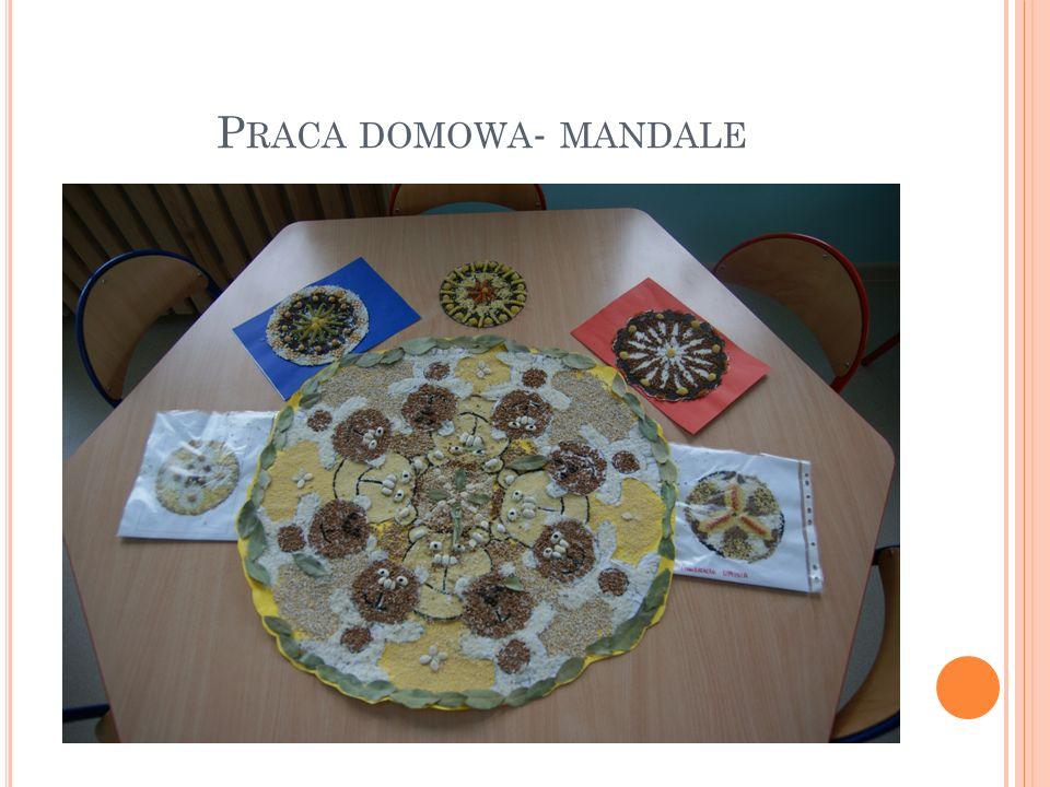 P RACA DOMOWA - MANDALE