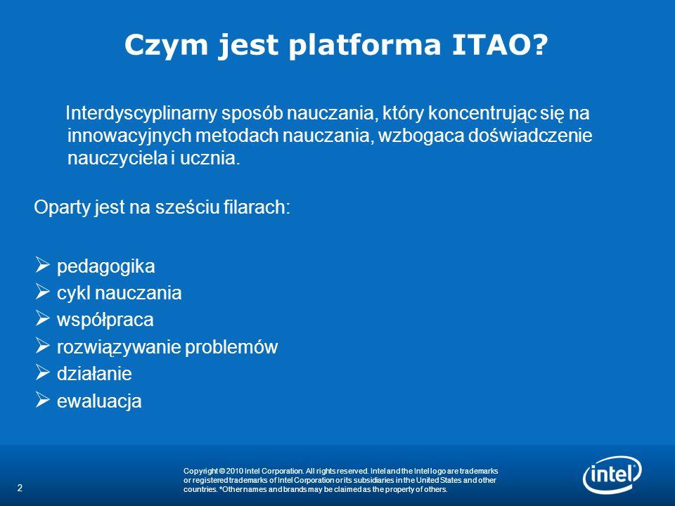 2 Czym jest platforma ITAO? Interdyscyplinarny sposób nauczania, który koncentrując się na innowacyjnych metodach nauczania, wzbogaca doświadczenie na