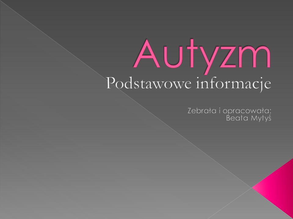 w Polsce jest około 30 tys.osób z autyzmem, w tym 20 tys.