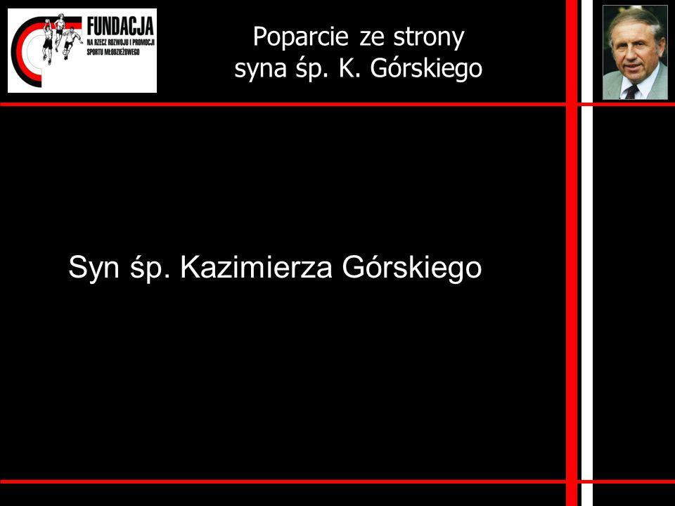 List od syna śp. Kazimierza Górskiego