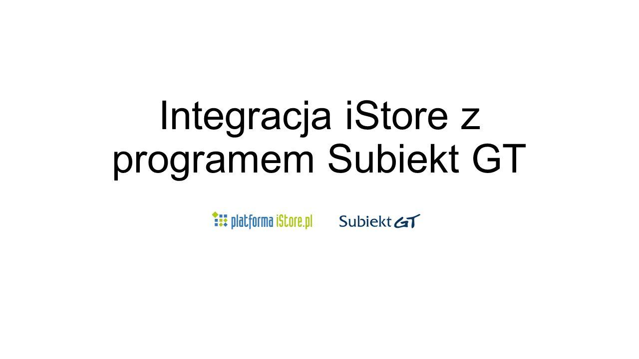 Konfiguracja Subiekt – wysyłanie towarów Jeżeli wszystkie dane dostępowe do Subiekta są poprawne, po ponownym uruchomieniu programu w zakładce Subiekt pojawią dodatkowe pola do skonfigurowania
