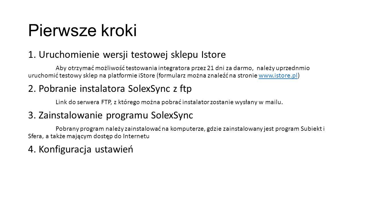 Instalacja programu SolexSync Po pobraniu instalatora programu SolexSync z serwera FTP, należy zainstalować go zgodnie z wytycznymi podanymi w oknie programu.