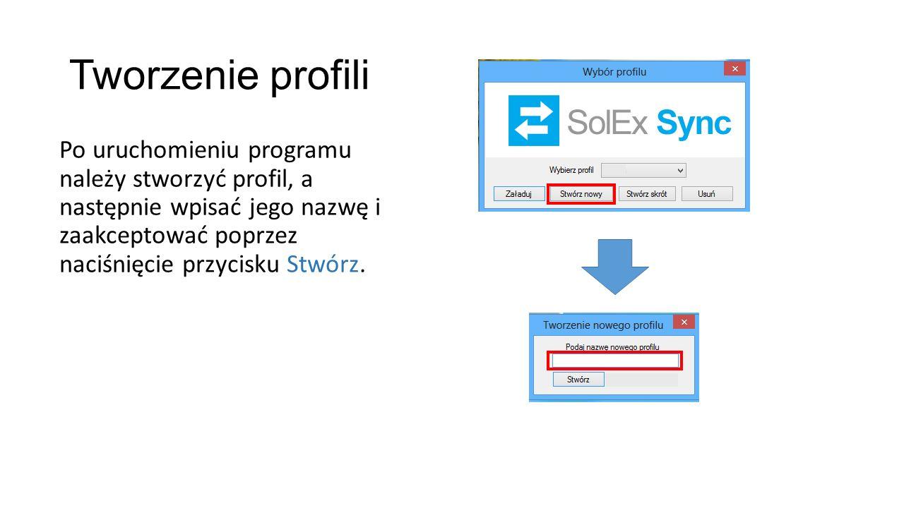 Synchronizacja Aby synchronizować produkty należy skorzystać z opcji Wyślij pełne dane.