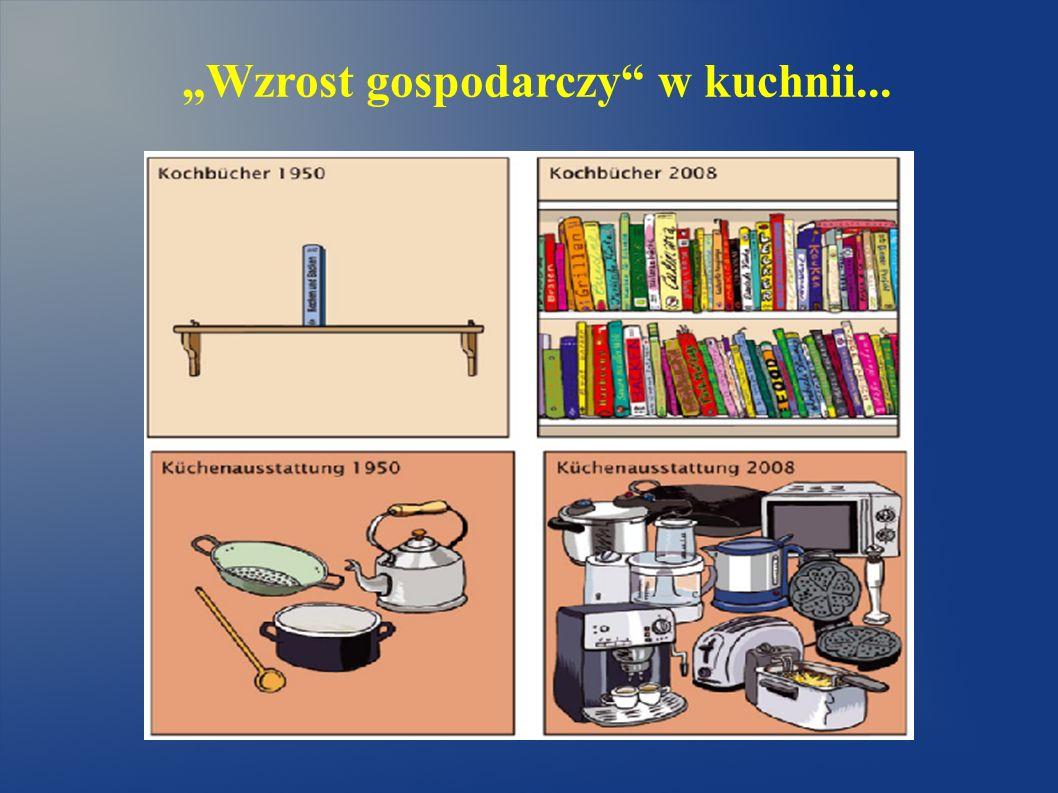 Wzrost gospodarczy w kuchnii...