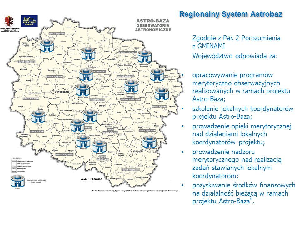 Regionalny System Astrobaz Zgodnie z Par.