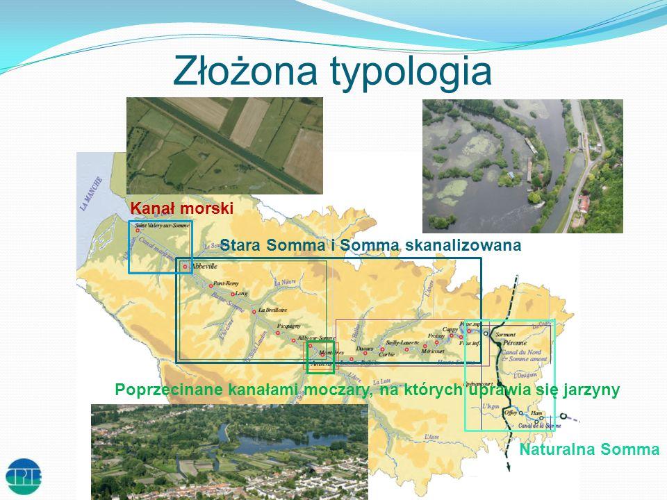 Rzeka opasana silną infrastrukturą Kanał Sommy: 135 km Kanał morski: 15 km 14 zapór spiętrzających 25 śluz Śluza Zapora spiętrzająca Most ruchomy Most obrotowy