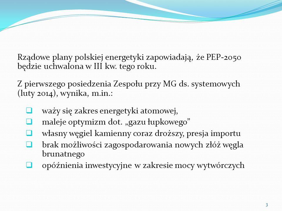 Rządowe plany polskiej energetyki zapowiadają, że PEP-2050 będzie uchwalona w III kw. tego roku. Z pierwszego posiedzenia Zespołu przy MG ds. systemow