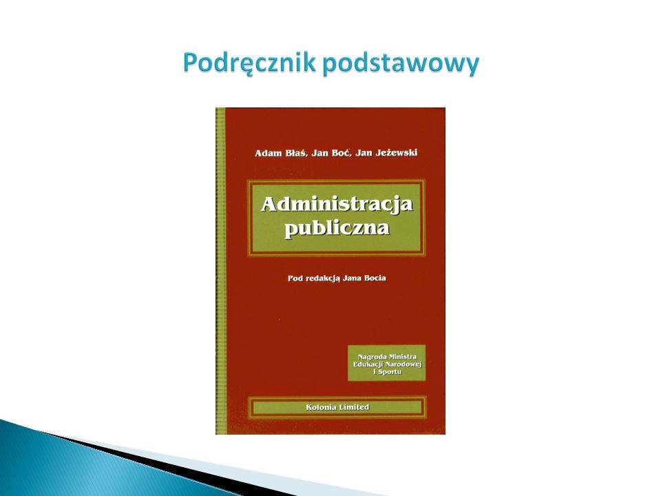 Administracja publiczna w Rzeczypospolitej Polskiej składa się z trzech podstawowych segmentów: administracja państwowa rządowa ; administracja państwowa nierządowa; administracja samorządowa.