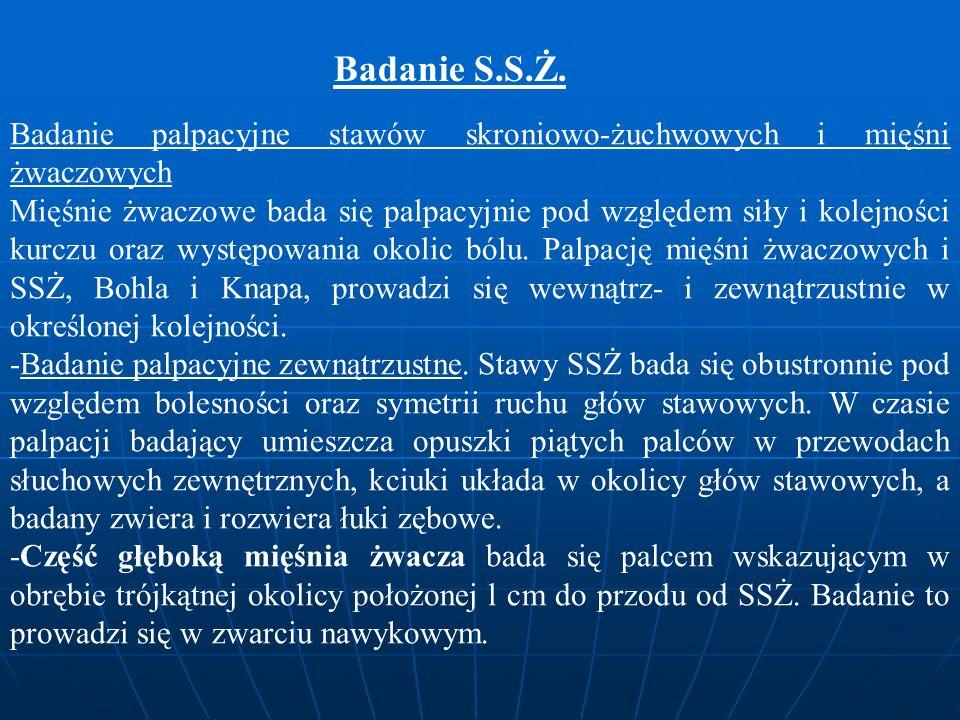 Badanie S.S.Ż.