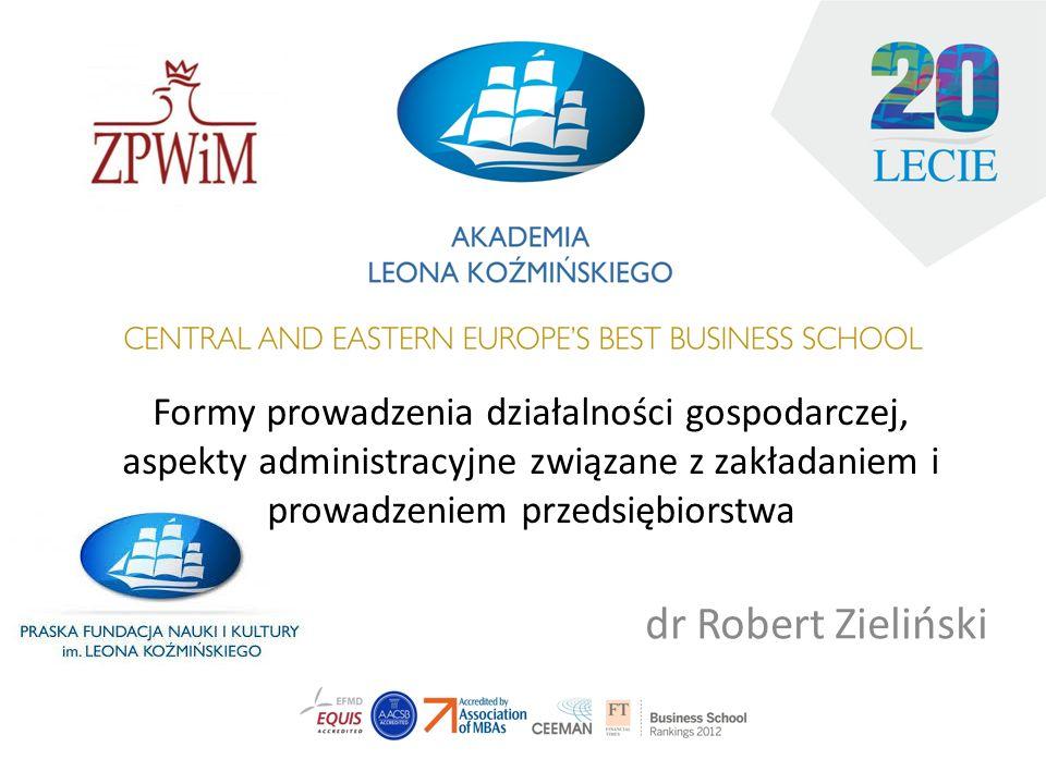 Spółka z o.o. Rejestracja spółki z o.o. w 24h -od 1 stycznia 2012 r.