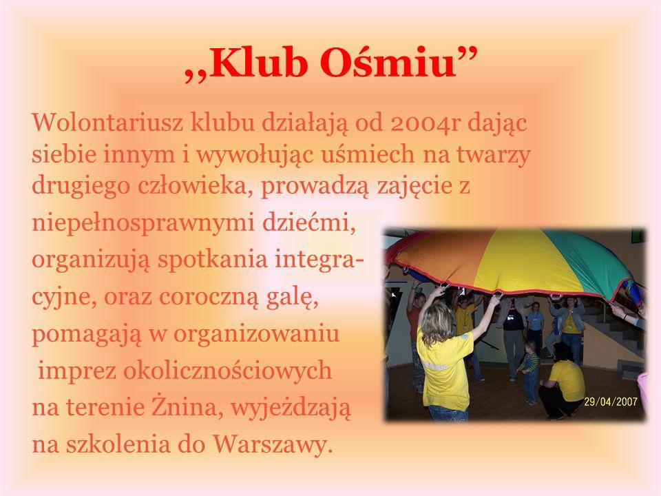 Pałuckie Bractwo Turystyczna,,Pałuczanie W roku szkolnym 2003/2004 grupa uczniów ZSEH w Żninie, inspirowana i prowadzona przez swojego nauczyciela stworzyła zespół, który dał początek Bractwu- lokalnej organizacji turystycznej propagującej aktywny wypoczynek, przyjazny stosunek do przyrody.
