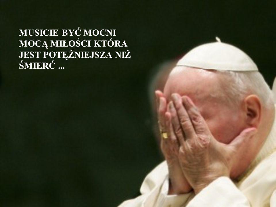Odszedł Jan Paweł 2, dla nas Papież – Polak, dla wszystkich wielki autorytet i niezwykły, dobry człowiek. Jego dobroć i wielkie serce były z nami prze