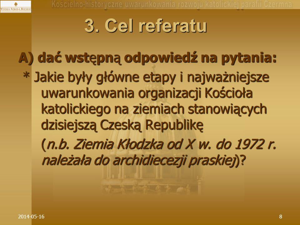 2014-05-1639 * W dynamikę historycznego rozwoju sieci parafialnej na Ziemi Kłodzkiej w drugiej połowie XIV w.