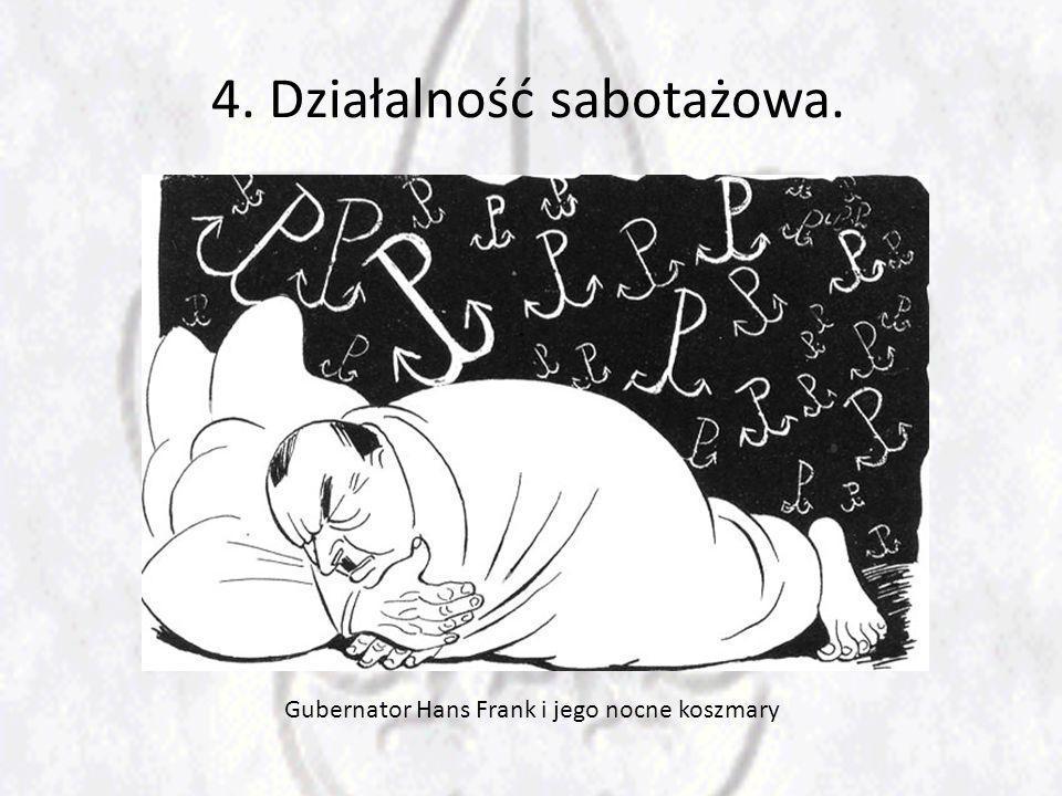 Gubernator Hans Frank i jego nocne koszmary