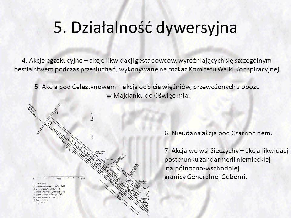 5.Działalność dywersyjna 4.