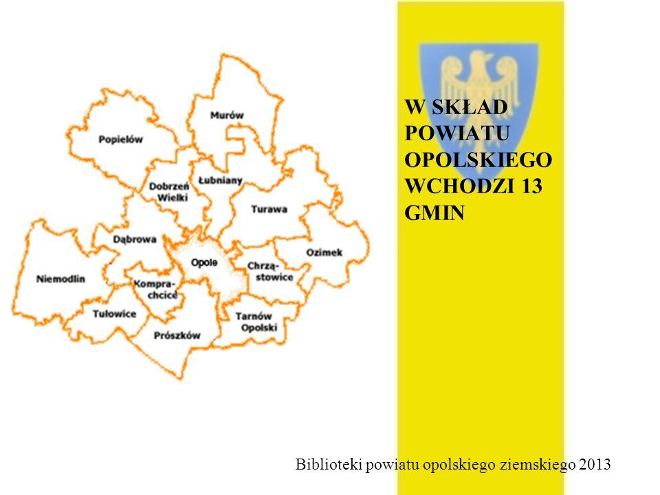 Filie Gminnej Biblioteki Publicznej w Dobrzeniu Wielkim Filia biblioteczna w Chróścicach, ul.