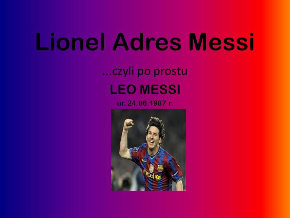Największe i najważniejsze osiągnięcia Lionela: