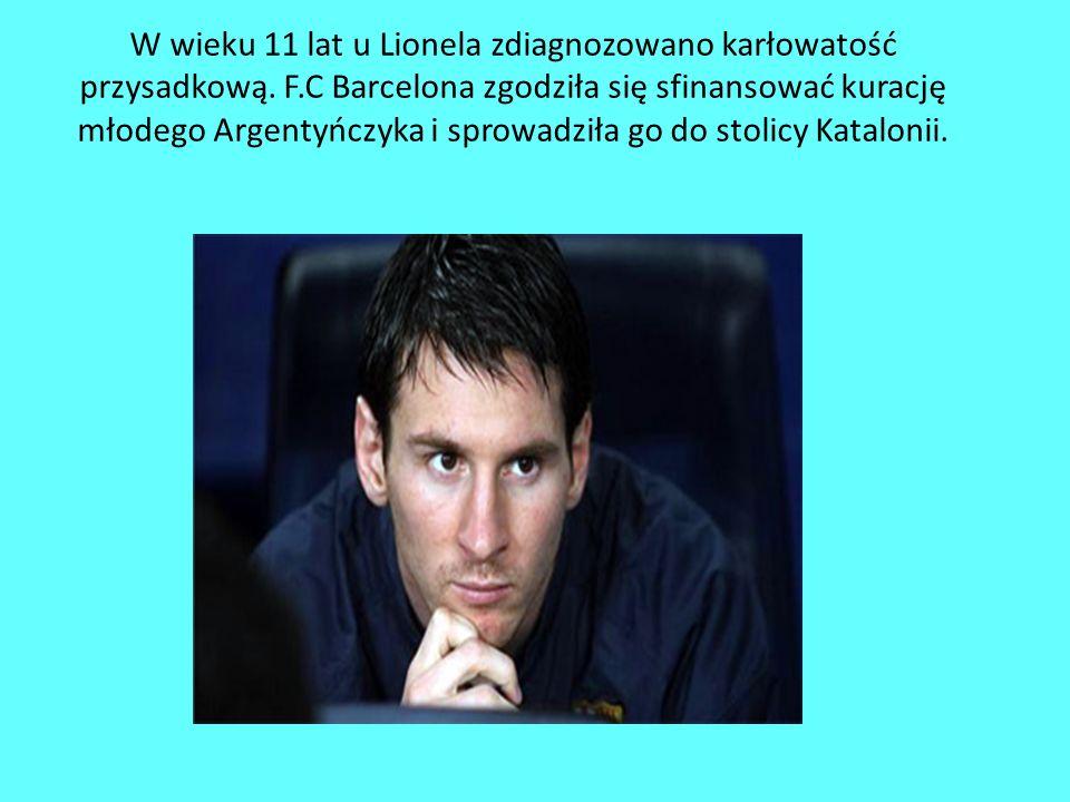 Messi urodził się w argentyńskim Rosario