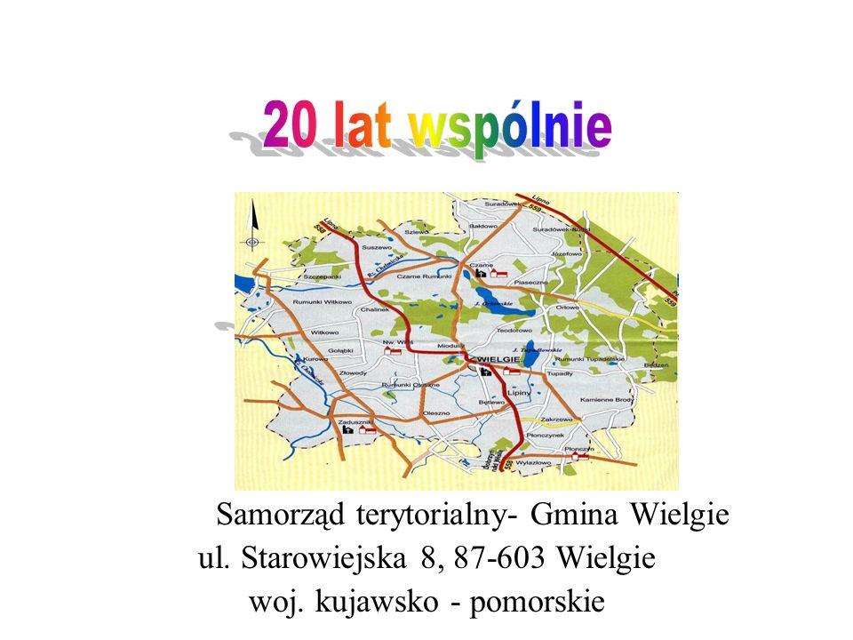 Samorząd terytorialny- Gmina Wielgie ul. Starowiejska 8, 87-603 Wielgie woj. kujawsko - pomorskie