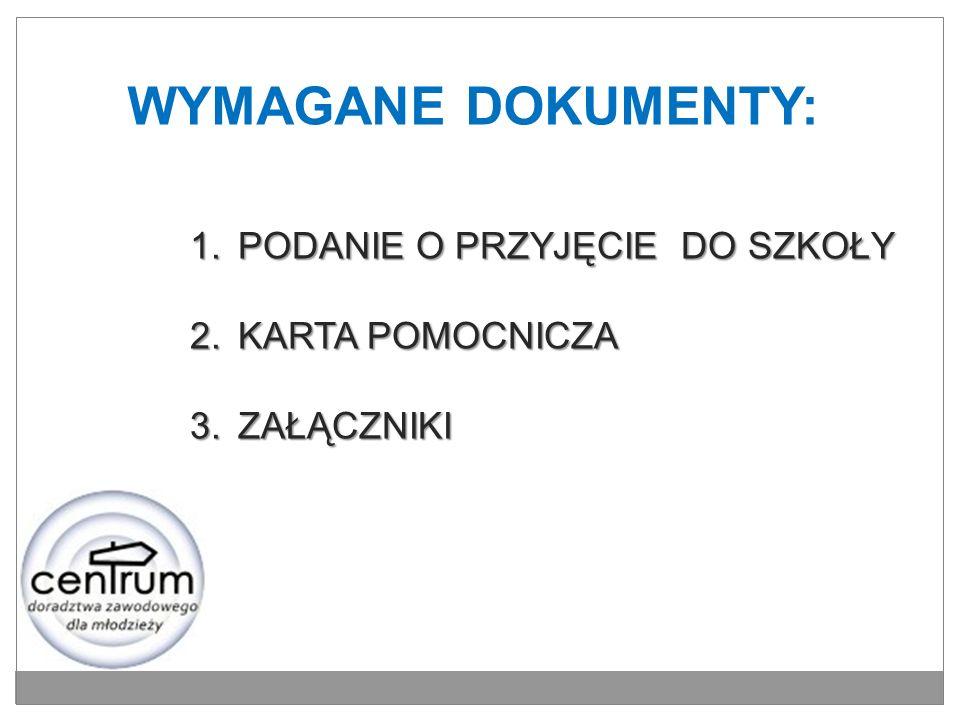 KLUCZOWE ADRESY INTERNETOWE www.poznan.pl/mim/oswiata www.nabor.pcss.pl/poznan/ www.ko.poznan.pl www.cke.edu.pl www.koweziu.edu.pl www.men.gov.pl www.oke.poznan.pl www.tropicielmaturzysty.pl www.perspektywy.pl www.aci.pl www.kariera.com.pl www.psz.praca.gov.pl
